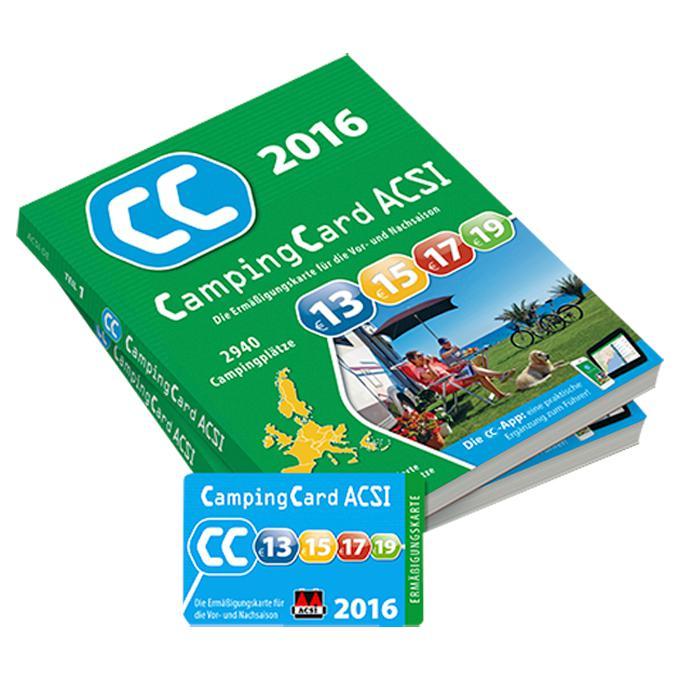 ACSI Campingcard und Reiseführer