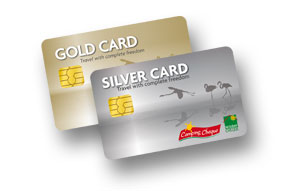 Camping Travel Club Silver Card und Gold Card